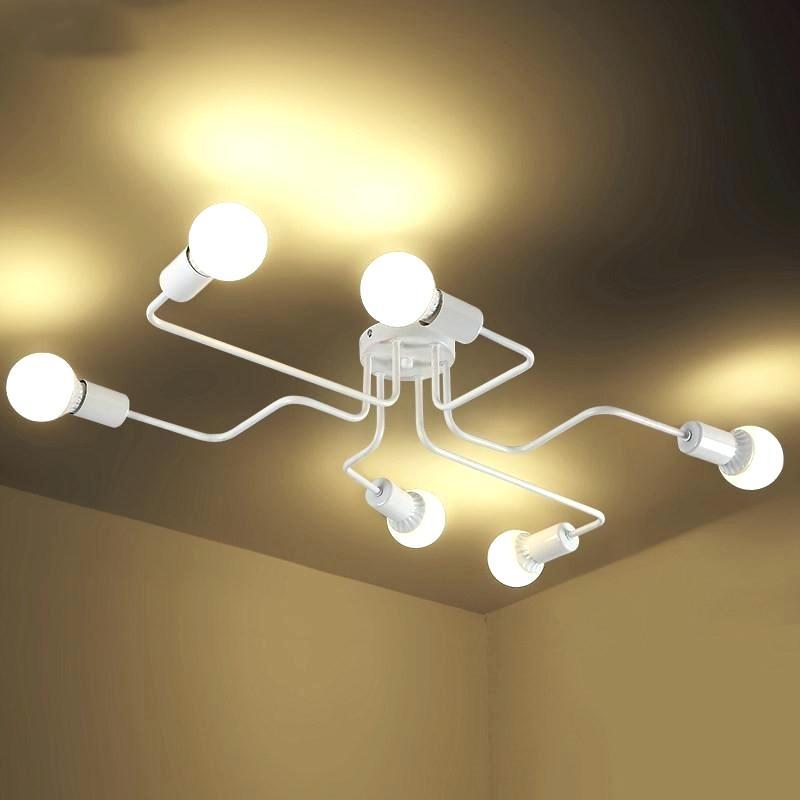 Cool 4 Lamp Ceiling Light Bulb Giselle Glass Ball Chrome Regarding Gisselle 4 Light Drum Chandeliers (View 16 of 20)