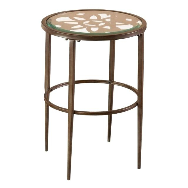 Cool Quatrefoil End Table Cage Lamp Belham Living Renata With The Curated Nomad Quatrefoil Goldtone Metal And Glass Coffee Tables (View 26 of 50)