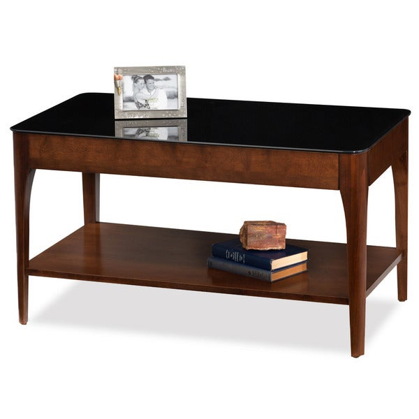 Featured Image of Copper Grove Obsidian Black Tempered Glass Apartment Coffee Tables