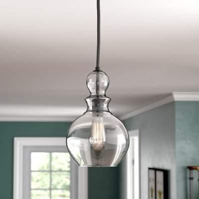 Coraline 1 Light Single Globe Pendant Regarding Devereaux 1 Light Single Globe Pendants (Image 3 of 25)