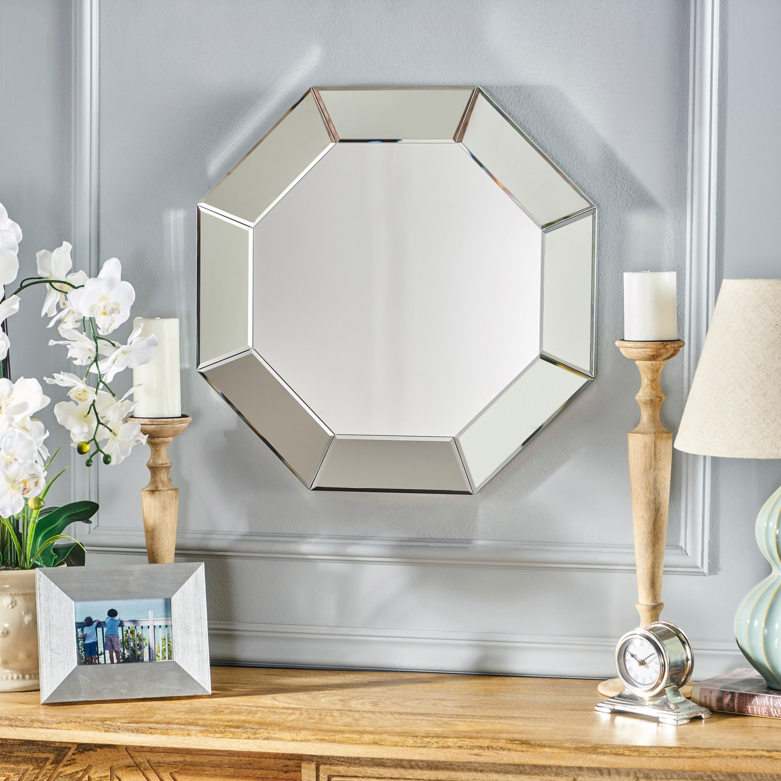 Coralynn Hexagonal Wall Mirrorchristopher Knight Home – Clear – N/a Pertaining To Gia Hexagon Accent Mirrors (Photo 12 of 20)