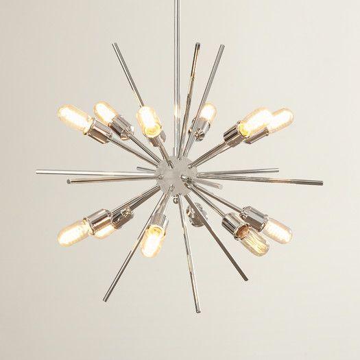 Corona 12 Light Sputnik Chandelier | Live: Bachelor Pad In Corona 12 Light Sputnik Chandeliers (Image 9 of 20)