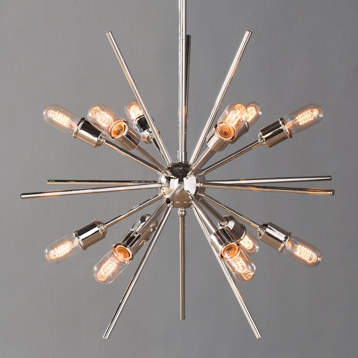 Corona 12 Light Sputnik Chandelier Regarding Corona 12 Light Sputnik Chandeliers (View 4 of 20)