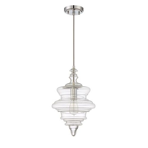 Craftmade P600Ch1 Chrome One Light 10 Inch Pendant With Throughout Dunson 3 Light Kitchen Island Pendants (View 21 of 25)