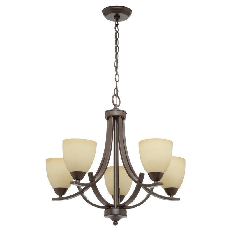 Featured Image of Crofoot 5 Light Shaded Chandeliers