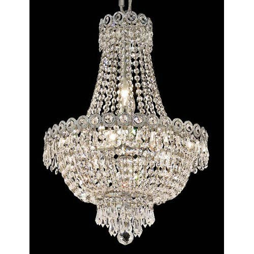 Crystal Chandeliers | Traditional, Modern, Empire & More Inside Thresa 5 Light Shaded Chandeliers (View 18 of 20)