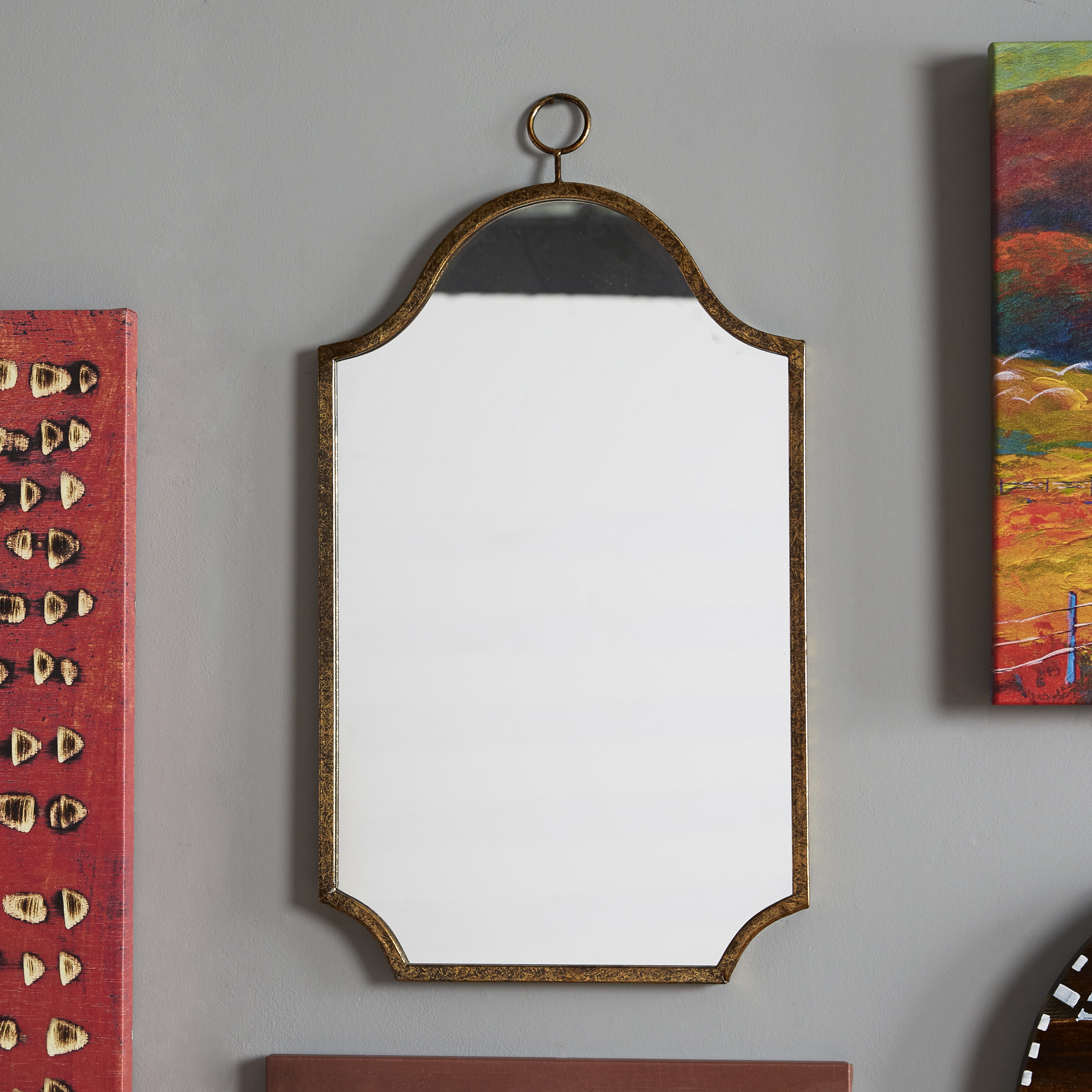 Cuadra Traditional Accent Mirror With Regard To Bristol Accent Mirrors (Image 9 of 20)