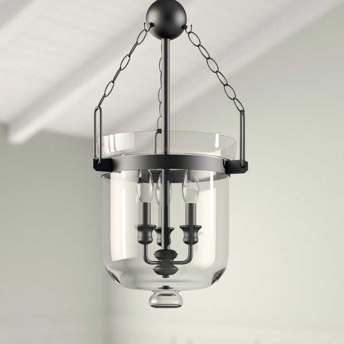 Cuffee 3 Light Single Urn Pendant Inside 3 Light Single Urn Pendants (Image 10 of 25)