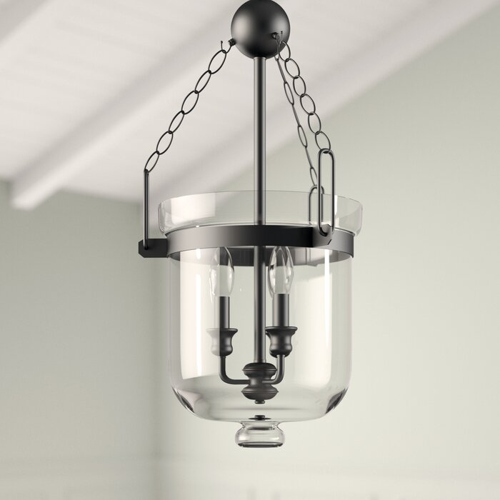 Cuffee 3 Light Single Urn Pendant Throughout 3 Light Single Urn Pendants (Image 14 of 25)