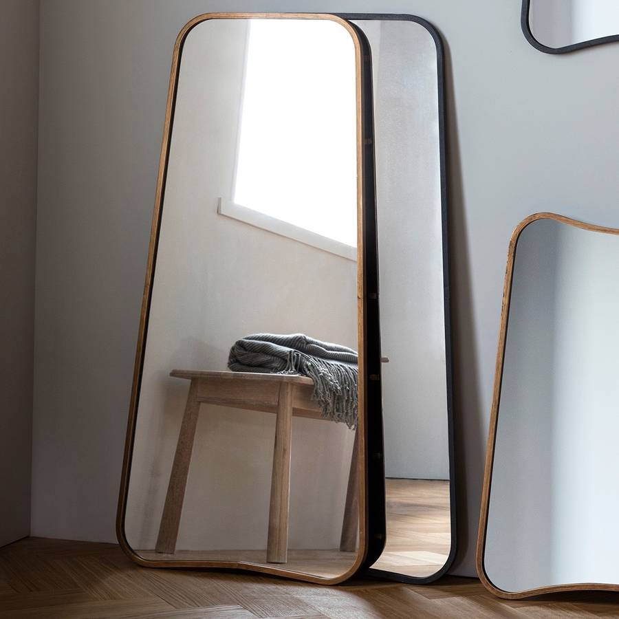 Curved Wall Or Leaning Mirror Intended For Leaning Mirrors (View 3 of 20)
