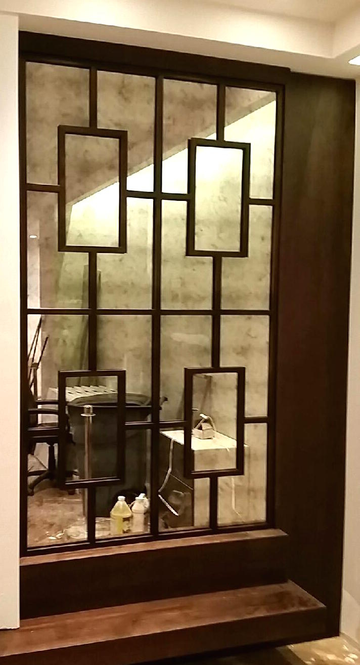 Custom Framed Mirrors Inside Accent Wall Mirrors (Image 8 of 20)