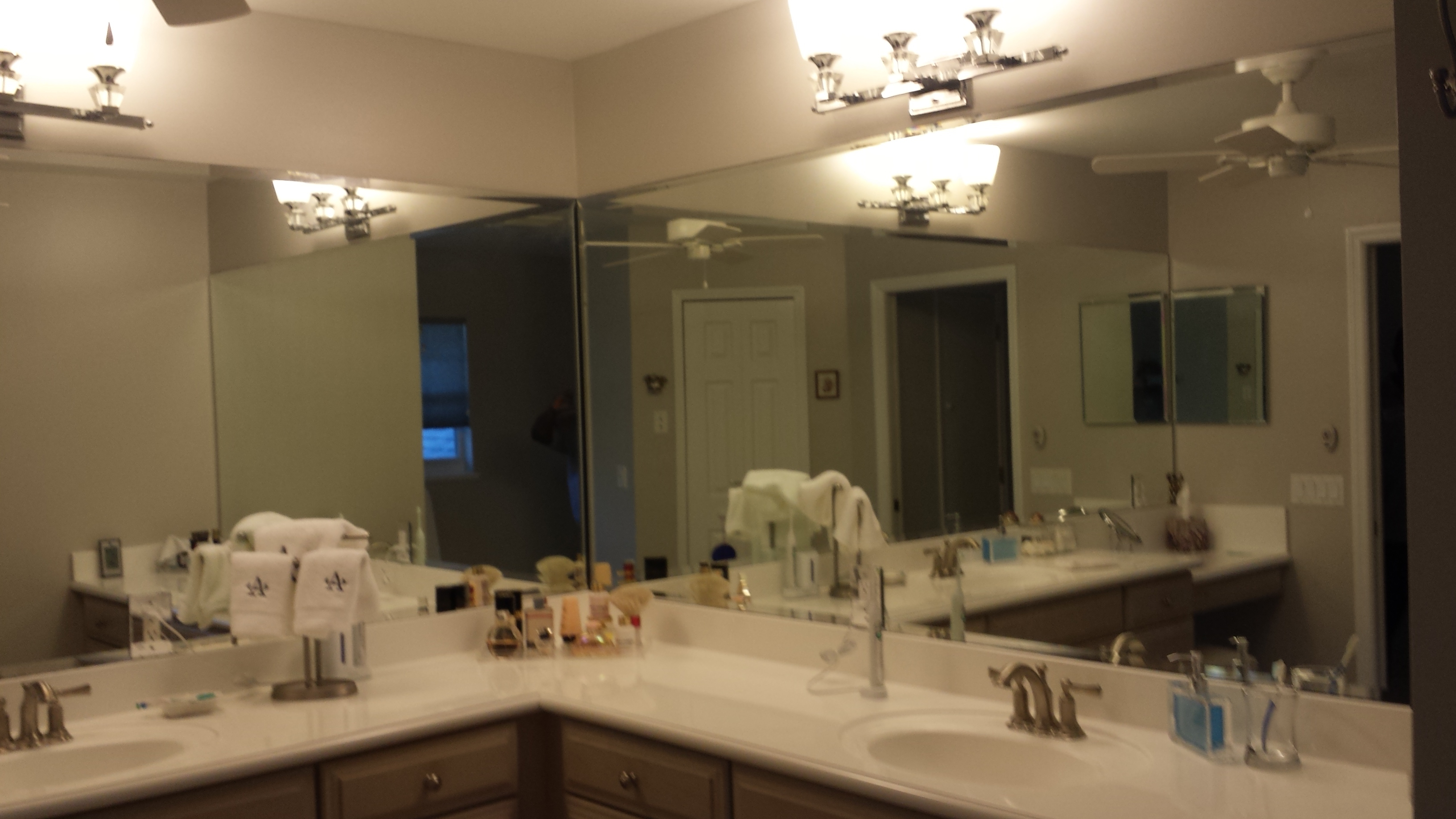 Custom Mirrors – Clearview Glass Of Brevard | Shower Doors Throughout Custom Mirrors (Image 6 of 20)