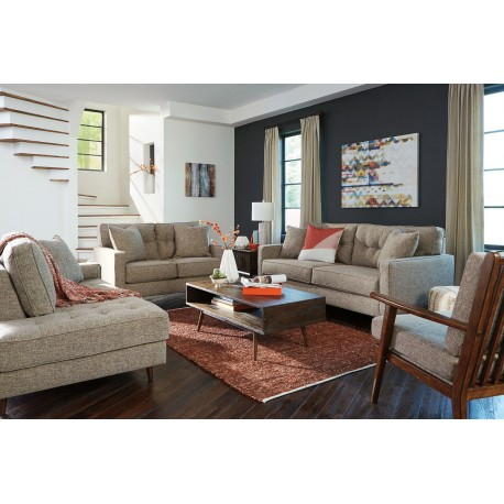 Dahra – Jute – Sofa, Loveseat, Accent Chair, Raf Corner Chaise, Kisper  Cocktail Table & End Table With Kisper Rectangular Cocktail Tables (Image 12 of 48)
