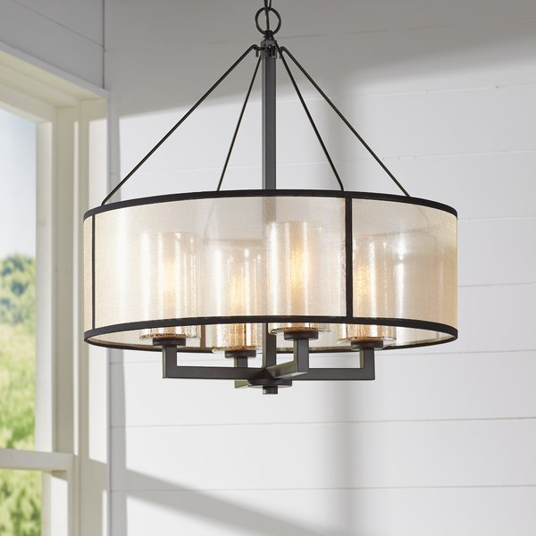 Featured Image of Dailey 4 Light Drum Chandeliers