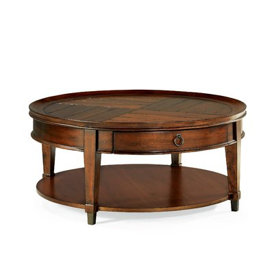 Darby Home Co Fitzhugh Coffee Table In 2018   Products In Gracewood Hollow Dones Traditional Cinnamon Round End Tables (View 14 of 25)