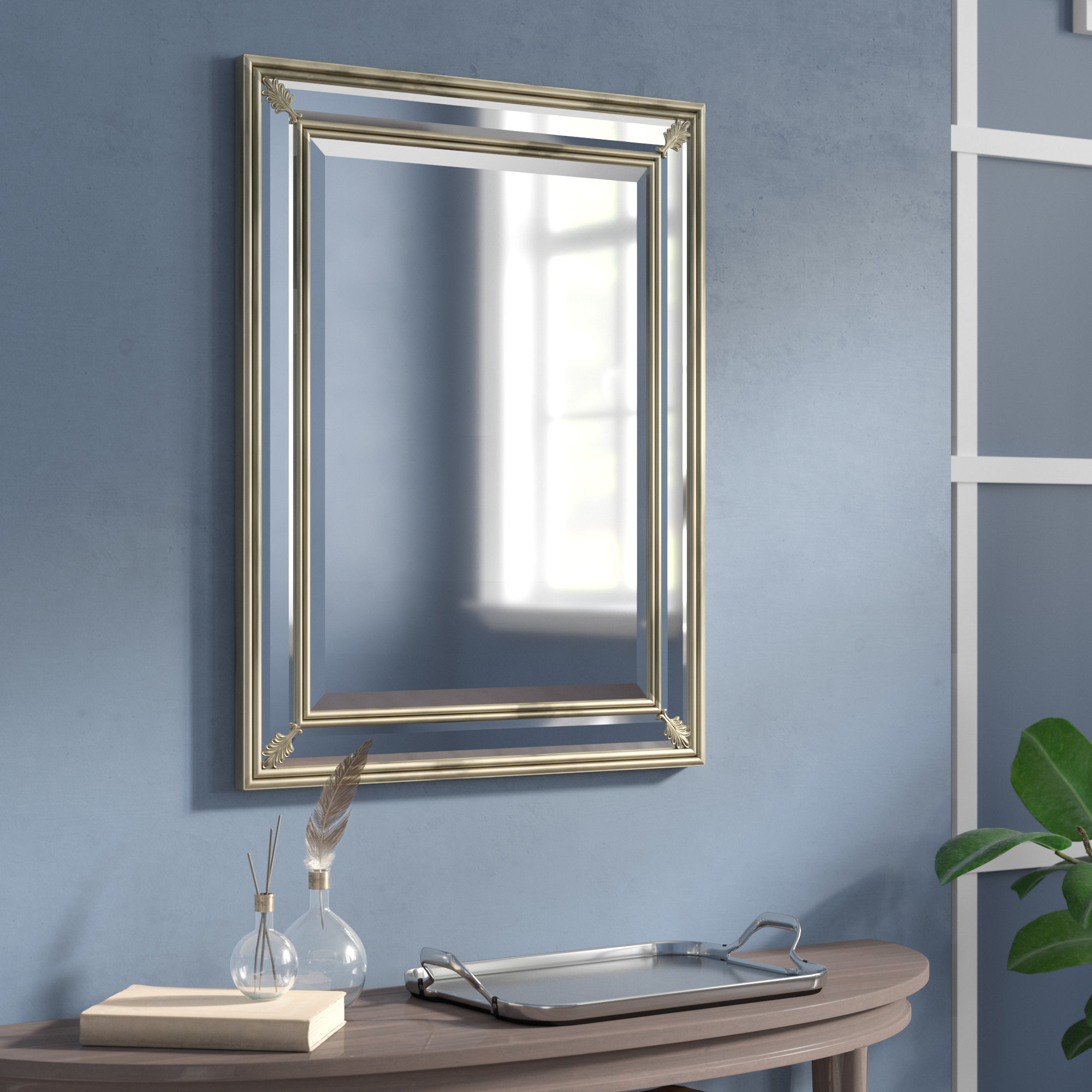 Darby Home Co Wilson Accent Mirror & Reviews | Wayfair (View 7 of 20)