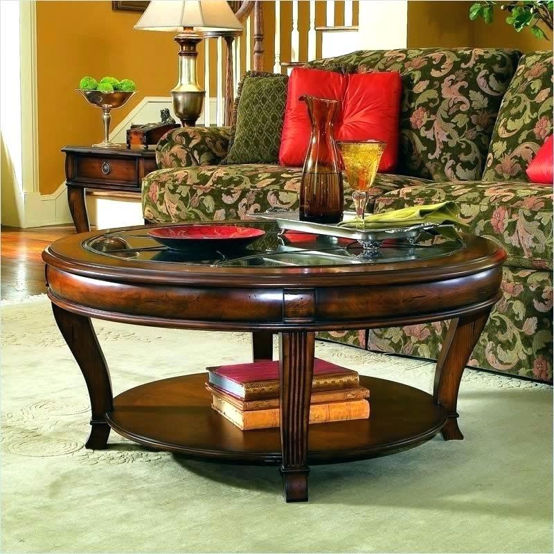 Dark Cherry Coffee Table – Avrasya Regarding Furniture Of America Crescent Dark Cherry Glass Top Oval Coffee Tables (Image 4 of 50)