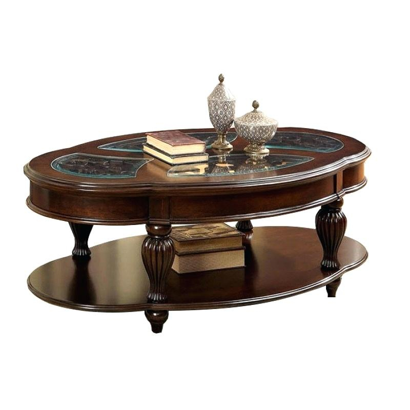 Dark Cherry Coffee Table – Birbudhu Pertaining To Furniture Of America Crescent Dark Cherry Glass Top Oval Coffee Tables (Image 5 of 50)
