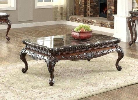 Dark Cherry Coffee Table – Buyfla Throughout Furniture Of America Crescent Dark Cherry Glass Top Oval Coffee Tables (Image 7 of 50)