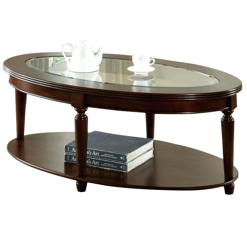 Dark Cherry Coffee Table – Order (Image 12 of 50)