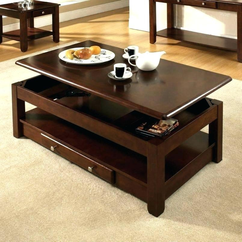 Dark Cherry Coffee Tables Table Set – Monteverest Inside Furniture Of America Crescent Dark Cherry Glass Top Oval Coffee Tables (Image 19 of 50)