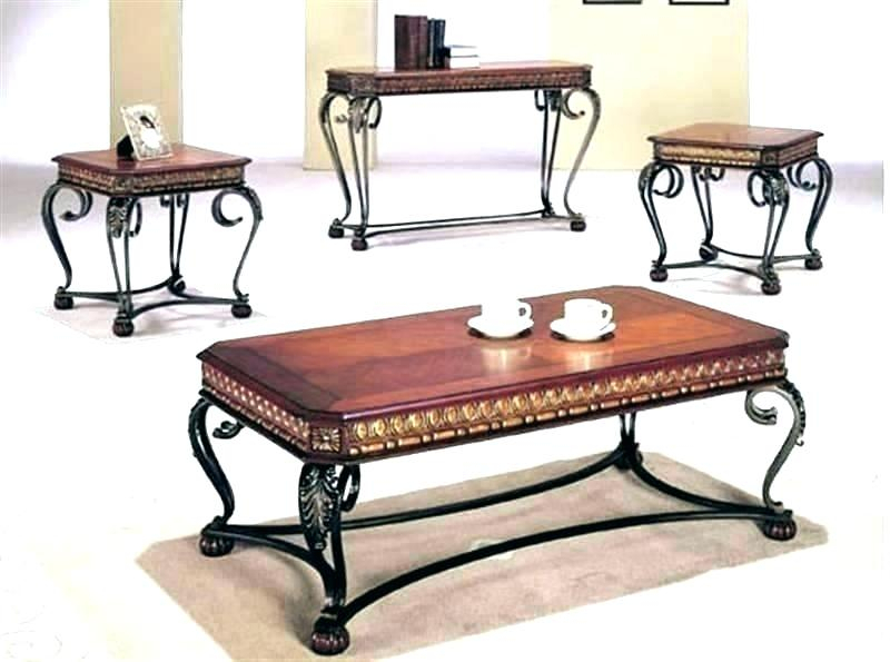 Dark Cherry Coffee Tables Table Set – Monteverest Regarding Furniture Of America Crescent Dark Cherry Glass Top Oval Coffee Tables (Image 20 of 50)