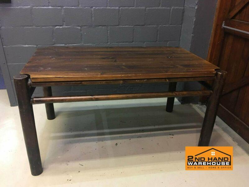 Dark Wood Dining Table , A20024 | Milnerton | Gumtree Regarding Handmade Whitewashed Stripped Wood Tables (Image 5 of 25)