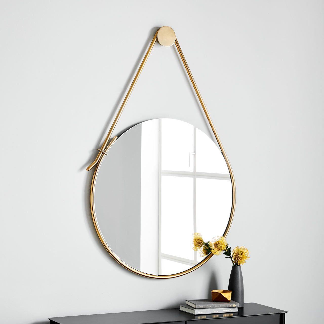 Debra Folz West Elm 16 Mirror – Design Milk | M I R R O R Inside Rhein Accent Mirrors (Image 3 of 20)