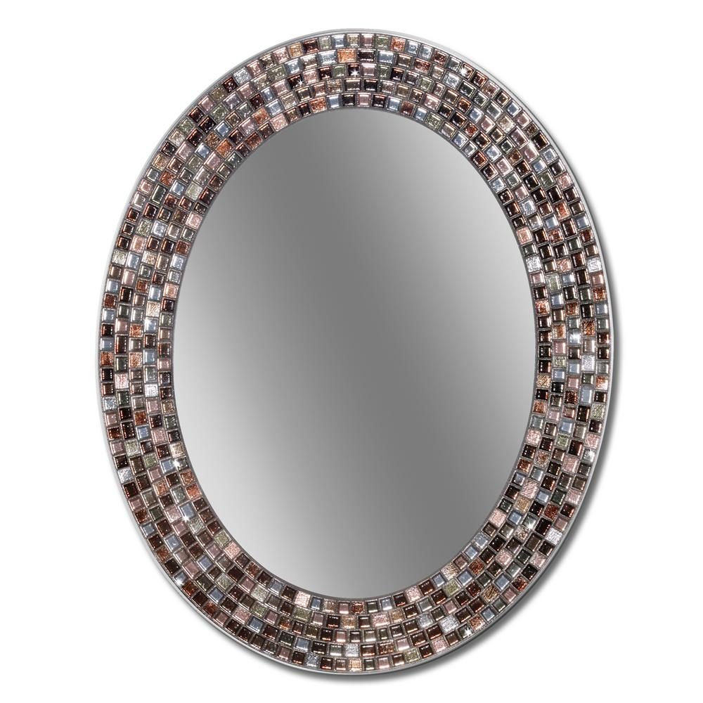 Deco Mirror Frameless Mosaic 23 In. X 29 In (Image 4 of 20)