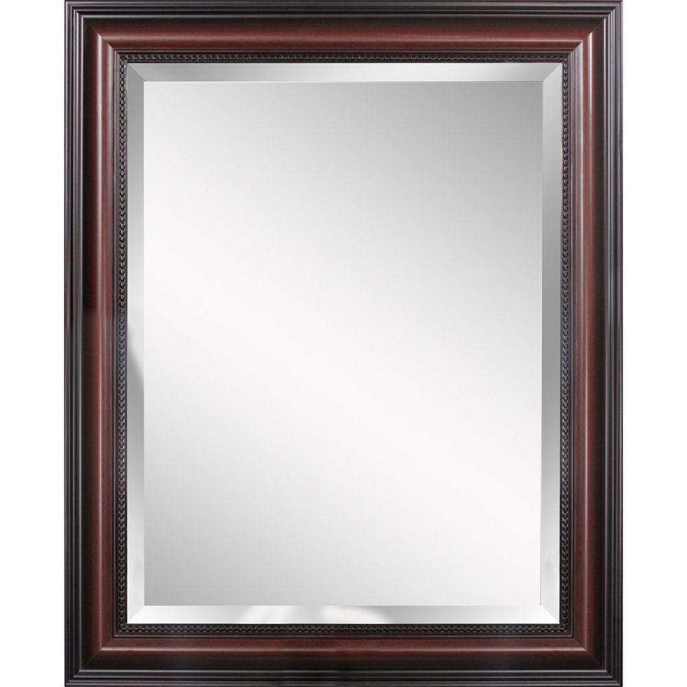 Deco Mirror Traditional 30 In. X 42 In (Image 3 of 20)