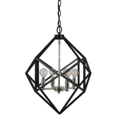 Decor Therapy – Special Values – The Home Depot Throughout Rockland 4 Light Geometric Pendants (View 5 of 25)