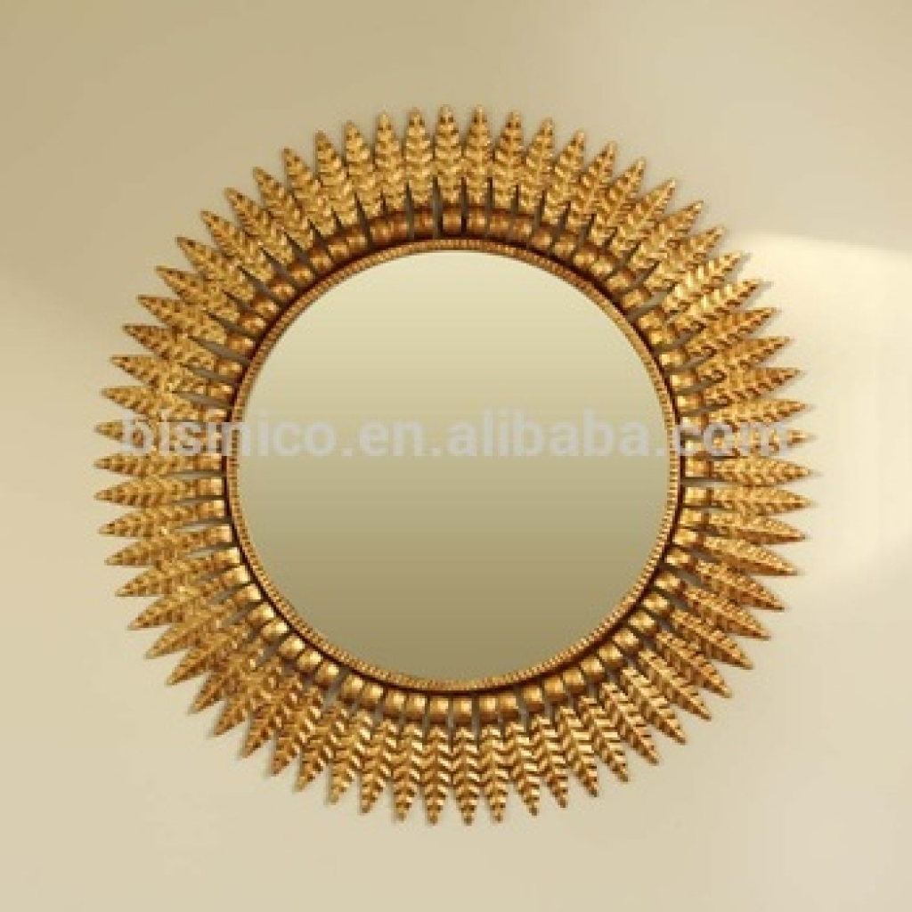 Decorative Wall Mirrors For Bathrooms | Home Interior Design In Sun Shaped Wall Mirrors (View 16 of 20)