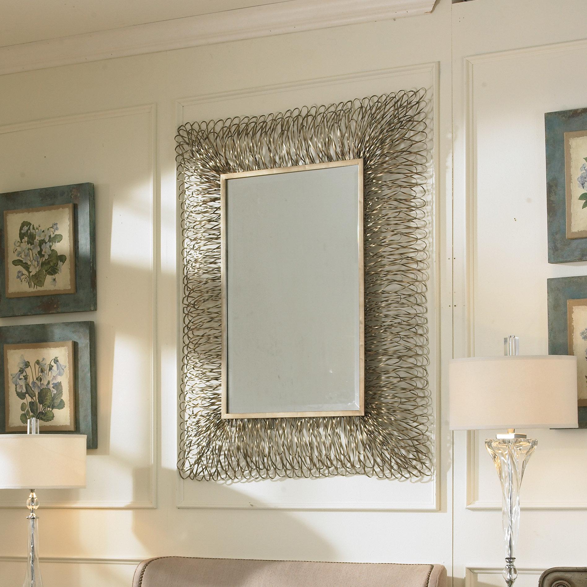 Decorative Wall Mirrors Tiles | Wayfair Throughout Bem Decorative Wall Mirrors (View 11 of 20)