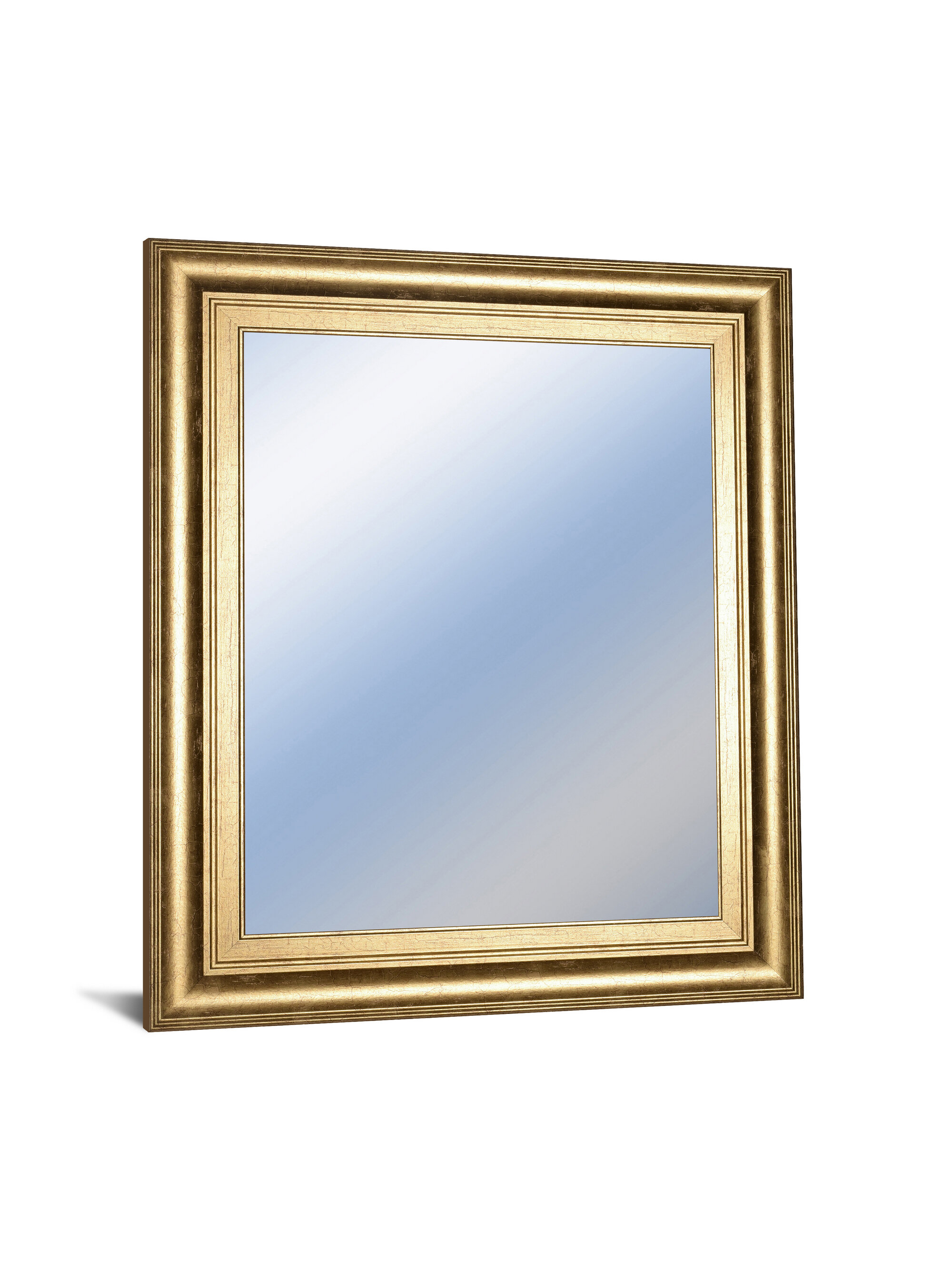 Dedrick Decorative Framed Modern And Contemporary Wall Mirror Intended For Dedrick Decorative Framed Modern And Contemporary Wall Mirrors (Image 7 of 20)