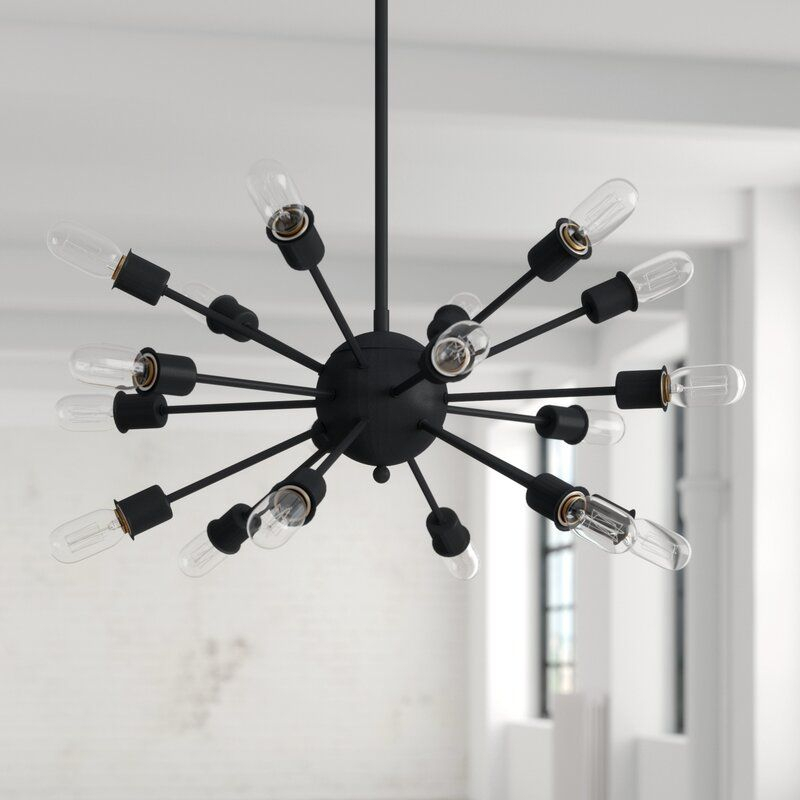 Defreitas 18 Light Sputnik Chandelier In 2019 | 930 Shoals With Regard To Defreitas 18 Light Sputnik Chandeliers (Image 8 of 20)