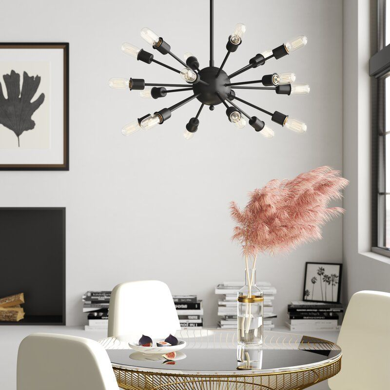 Defreitas 18 Light Sputnik Chandelier In 2019 | Kitchen Intended For Defreitas 18 Light Sputnik Chandeliers (Image 9 of 20)