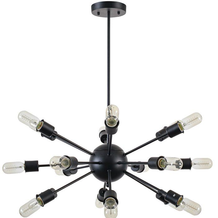 Defreitas 18 Light Sputnik Chandelier | The Tagge Home Regarding Vroman 12 Light Sputnik Chandeliers (Image 8 of 20)