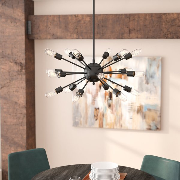 Featured Image of Defreitas 18 Light Sputnik Chandeliers