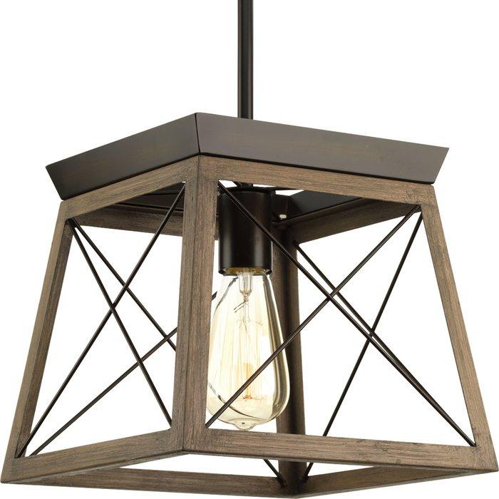 Delon 1 Light Lantern Geometric Pendant Regarding Louanne 1 Light Lantern Geometric Pendants (View 17 of 20)
