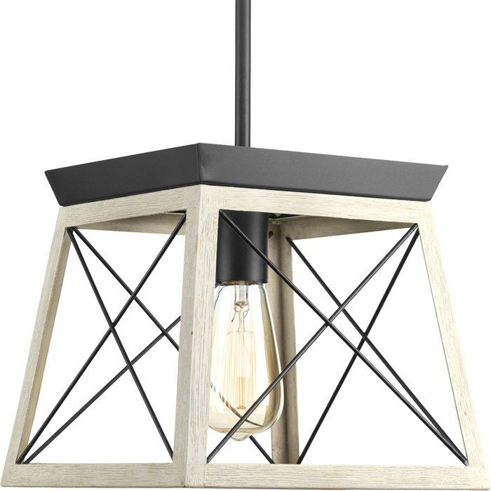 Delon 1 Light Lantern Pendant | Home Decorating | Farmhouse Within Delon 1 Light Lantern Geometric Pendants (Image 11 of 20)