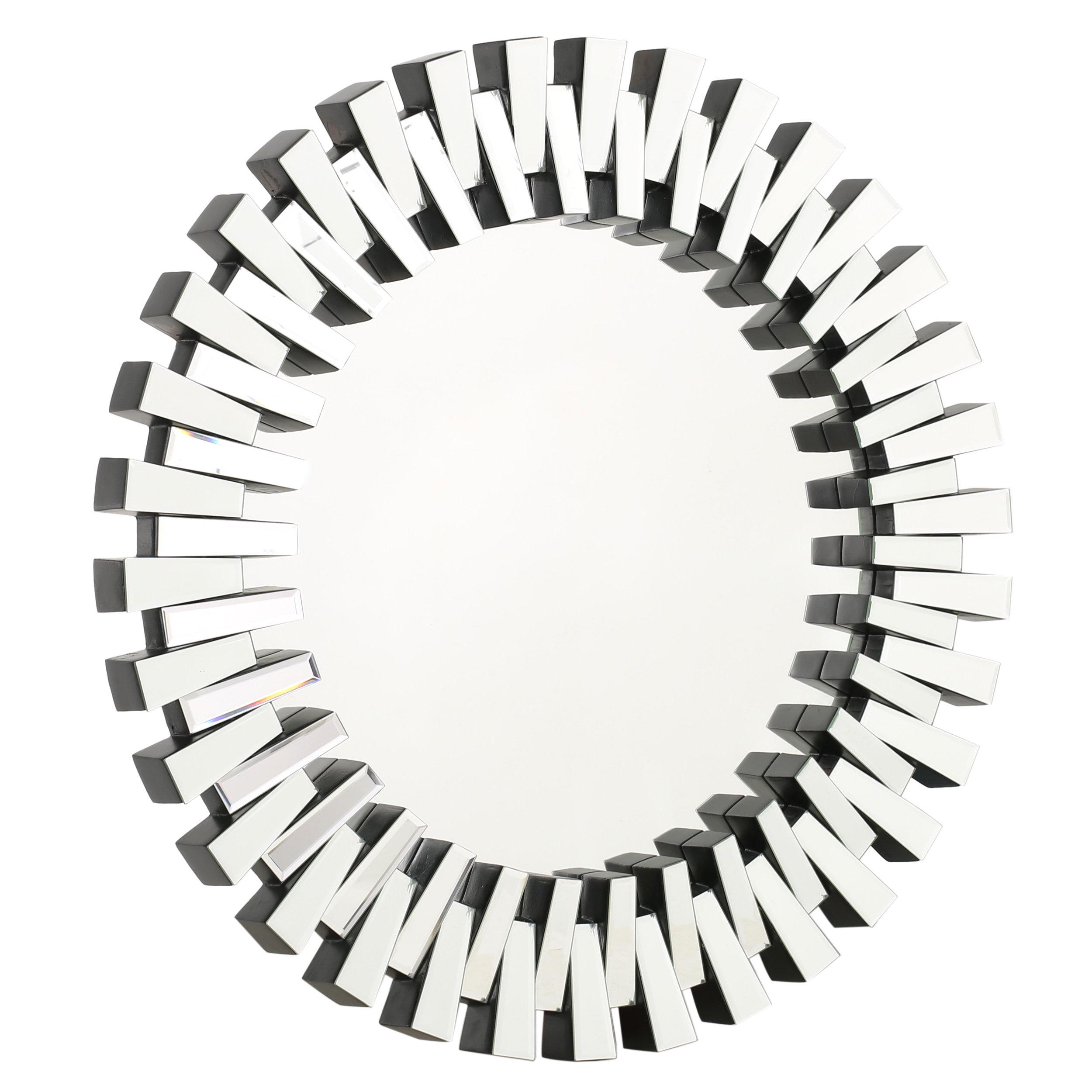 Featured Image of Deniece Sunburst Round Wall Mirrors