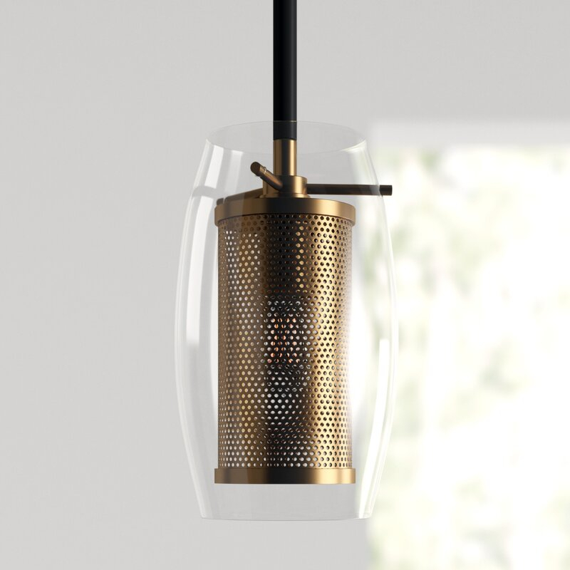 Depp 1 Light Single Cylinder Pendant Throughout Fennia 1 Light Single Cylinder Pendants (View 11 of 25)