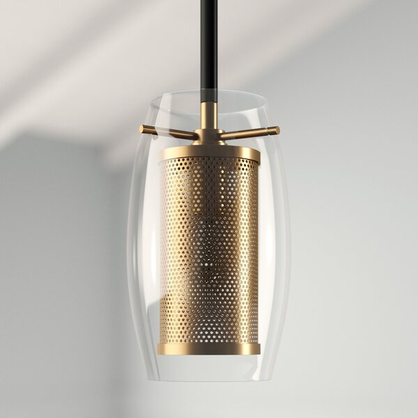 Depp 1 Light Single Cylinder Pendant Within Fennia 1 Light Single Cylinder Pendants (View 8 of 25)