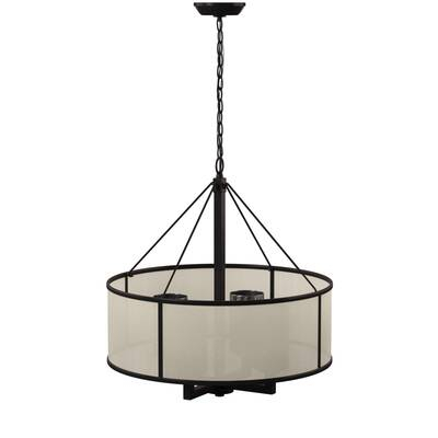 Derrek 2 Light Novelty Chandelier & Reviews | Joss & Main Within Dailey 4 Light Drum Chandeliers (Image 10 of 20)