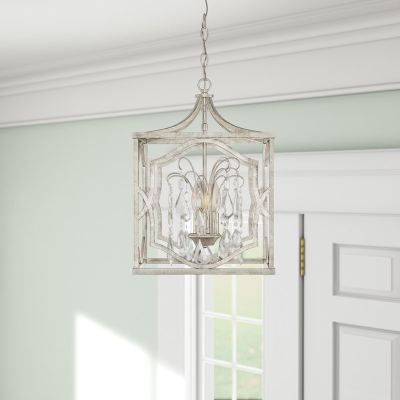 Destrey 3 Light Lantern Pendant For Destrey 3 Light Lantern Square/rectangle Pendants (View 9 of 20)