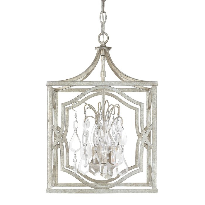Destrey 3 Light Lantern Pendant In Destrey 3 Light Lantern Square/rectangle Pendants (View 8 of 20)