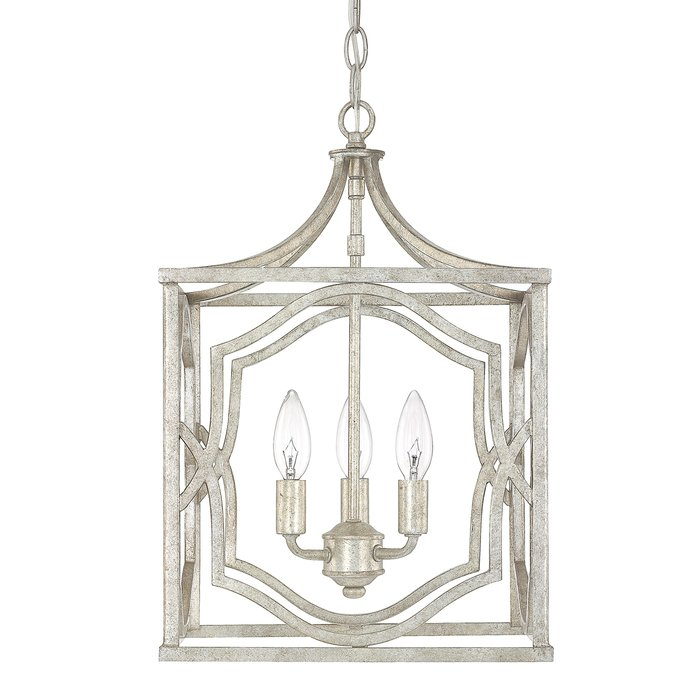 Featured Image of Destrey 3 Light Lantern Square/rectangle Pendants
