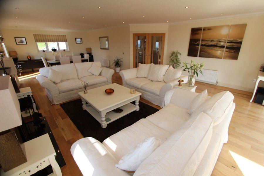 Detached Villa For Sale – Windy Willows, 2 Ruilick, Beauly Inside Porch & Den Urqhuart Wood Glass Coffee Tables (Image 13 of 50)