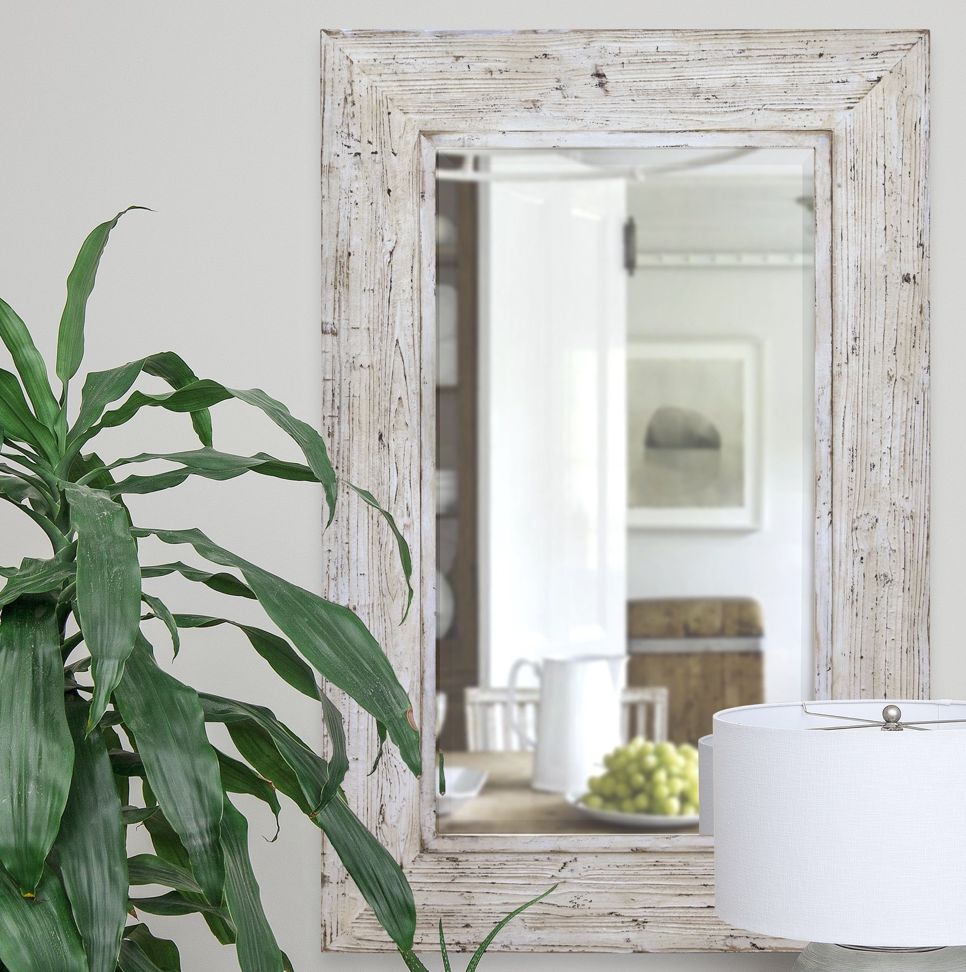 Details About Gracie Oaks Mcfarland Traditional Beveled Wall Mirror In Traditional Beveled Wall Mirrors (View 14 of 20)