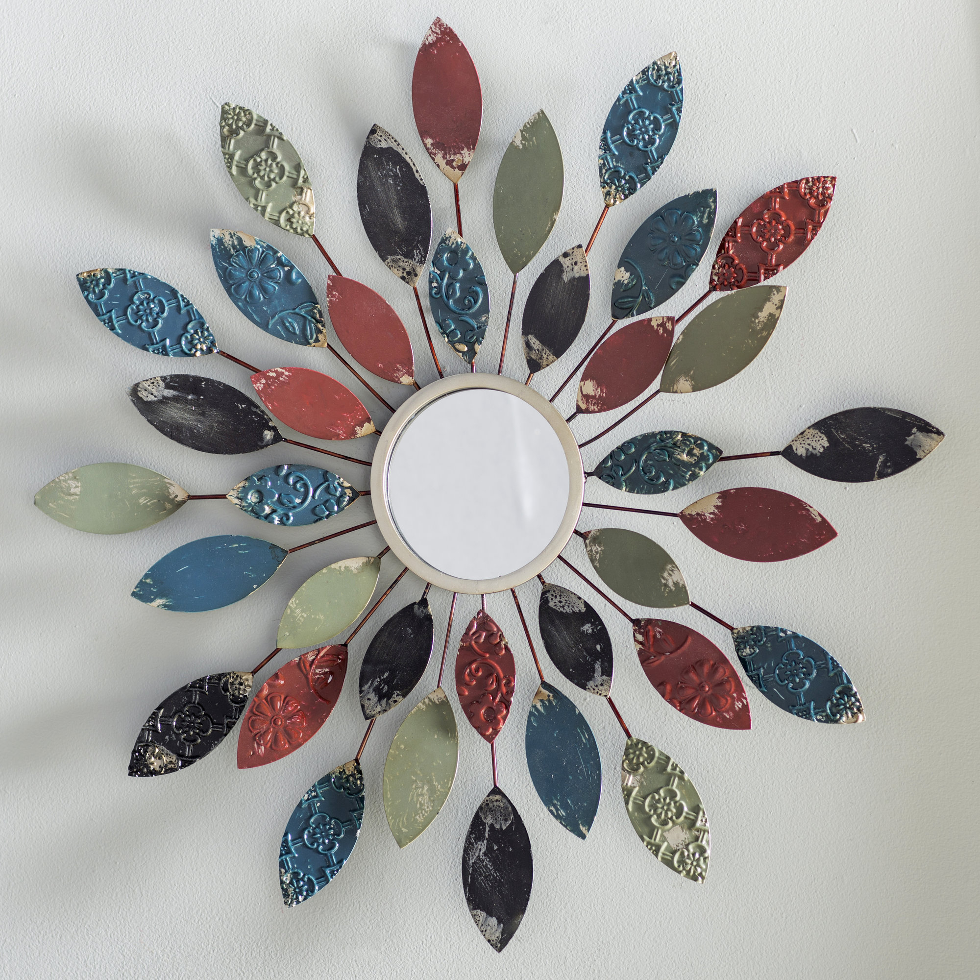 Featured Image of Carstens Sunburst Leaves Wall Mirrors